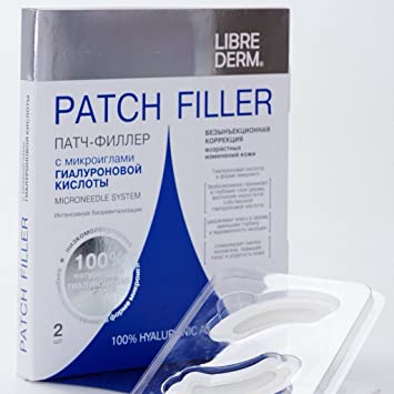 LIBREDERM PATCH-FILLER WITH MICRONEEDLES OF HYALURONIC ACID ANTI AGING  [Imported]