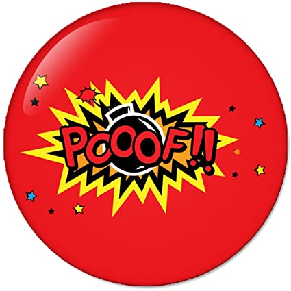 Amazon com: Comic Sound Effects POOOF : Pinback Buttons 1 25 Inch