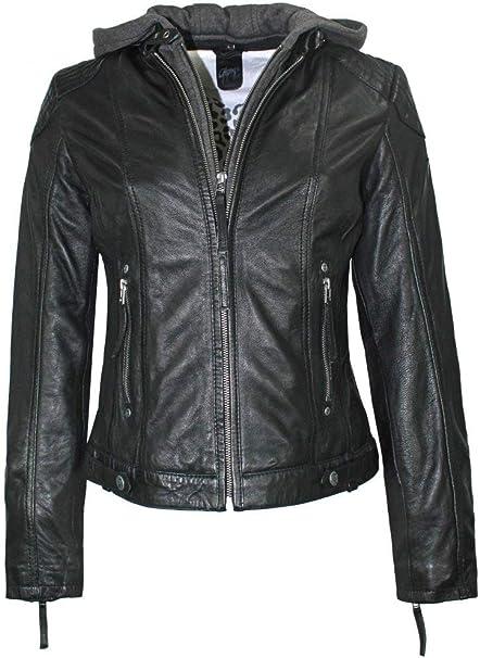GIPSY LEDERJACKE DAMEN Schwarz Größe XL ***Neu*** EUR 16