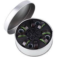 Xinzhi Cojinete de Acero Cromado rodamientos ABEC-9, rodamientos de Skate Premium, rodamiento de Acero Cromado Plato de Peces pequeños ABEC-9