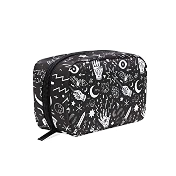 Travel Toiletry Makeup Bag Witchcraft Cosmetic Bags Women s Portable  Brushes Case Toiletry Bag Travel Kit Jewelry 2e446ee70e