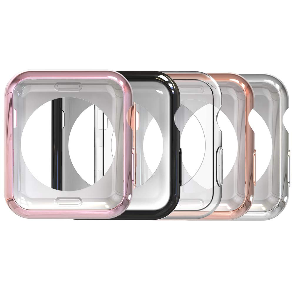 Funda Protectora Para Reloj 40mm Apple Watch Series 4 (5 Unidades)