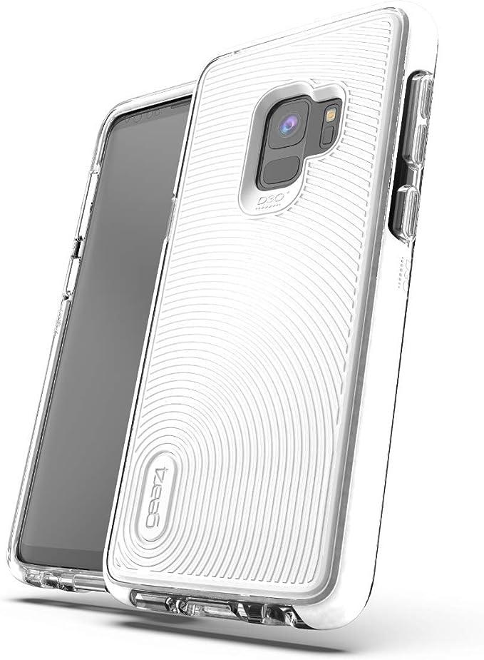 GEAR4 D3O Coque Samsung Galaxy S9 Blanc Battersea – Sgs9btswht
