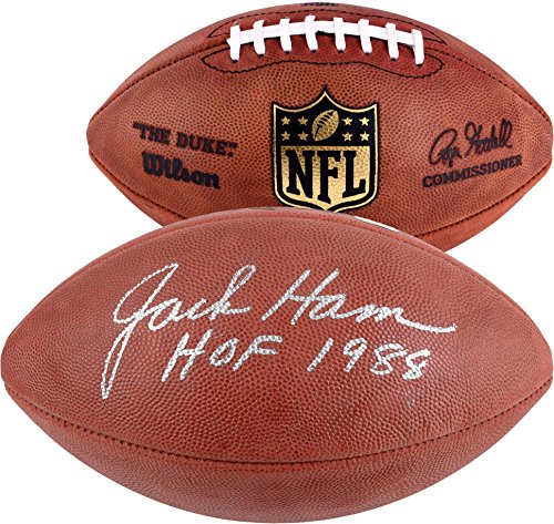 Jack Ham Pittsburgh Steelers Autographed Pro Football with HOF 88 Inscription - Fanatics Authentic Certified