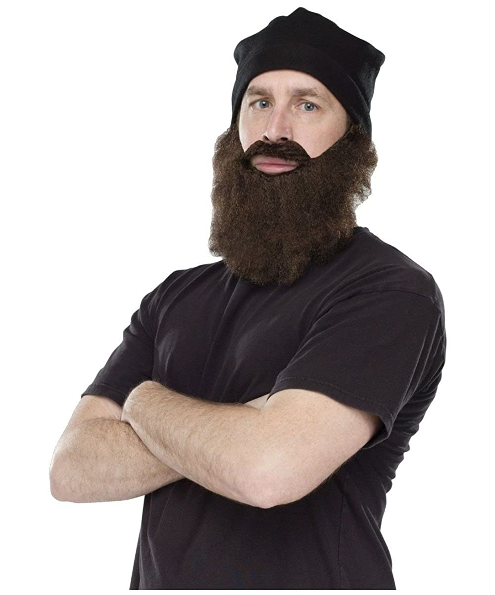 Amazon.com Fun World Duck Hunter Disguise Knit Cap and Brown Beard One Size Costume Clothing  sc 1 st  Amazon.com & Amazon.com: Fun World Duck Hunter Disguise Knit Cap and Brown ...