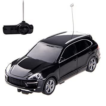 Rastar 50300 Black Porsche Cayenne Turbo 1/32 Scale RC Car: Amazon.es: Juguetes y juegos