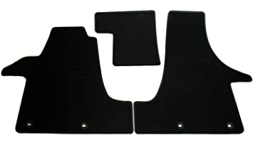 AD Tuning GmbH HG10113 Velours Passform Fu/ßmatten Set Schwarz