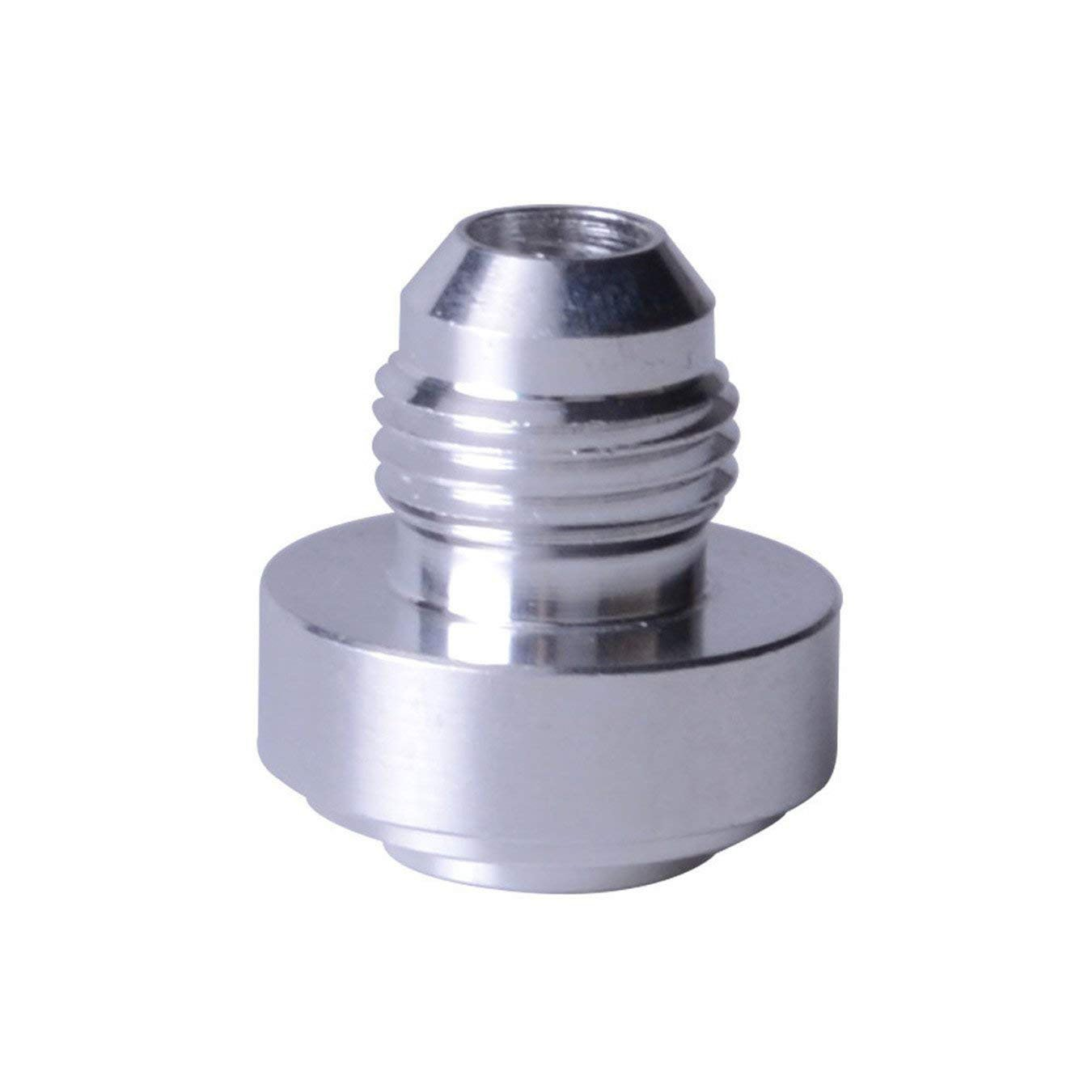 EVIL ENERGY 10AN AN10 Aluminum Weld on Bung Hose Adapter Fuel Oil Fitting Speedwow Tuning