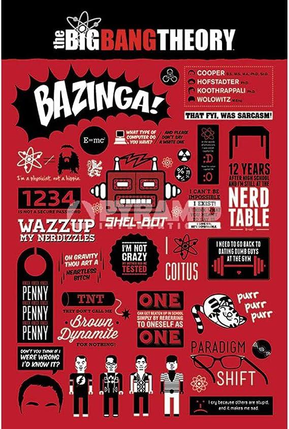 Poster The Big Bang Theory: Amazon.es: Hogar