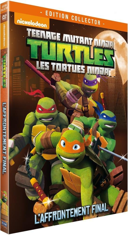 Les Tortues Ninja - Vol. 4 : Laffrontement final Francia ...