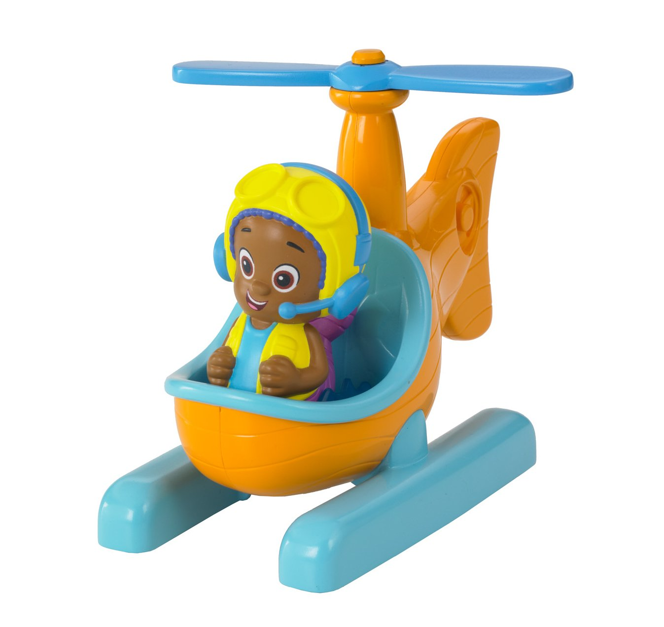 fisher price nickelodeon bubble guppies goby and bubble coptor