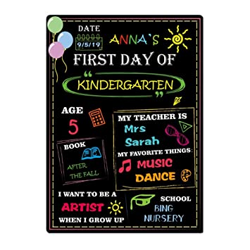 Amazon.com: Cartel escolar para niños: Home & Kitchen