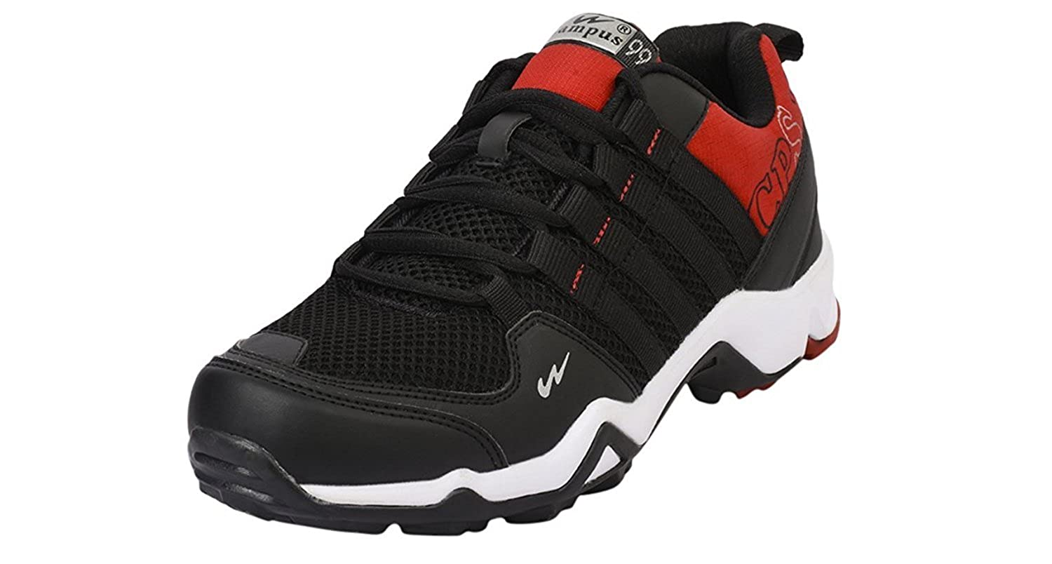 c9ffc341e36b Campus Trigger Men s Black Running Shoes -10  Buy Online at Low Prices in  India - Amazon.in