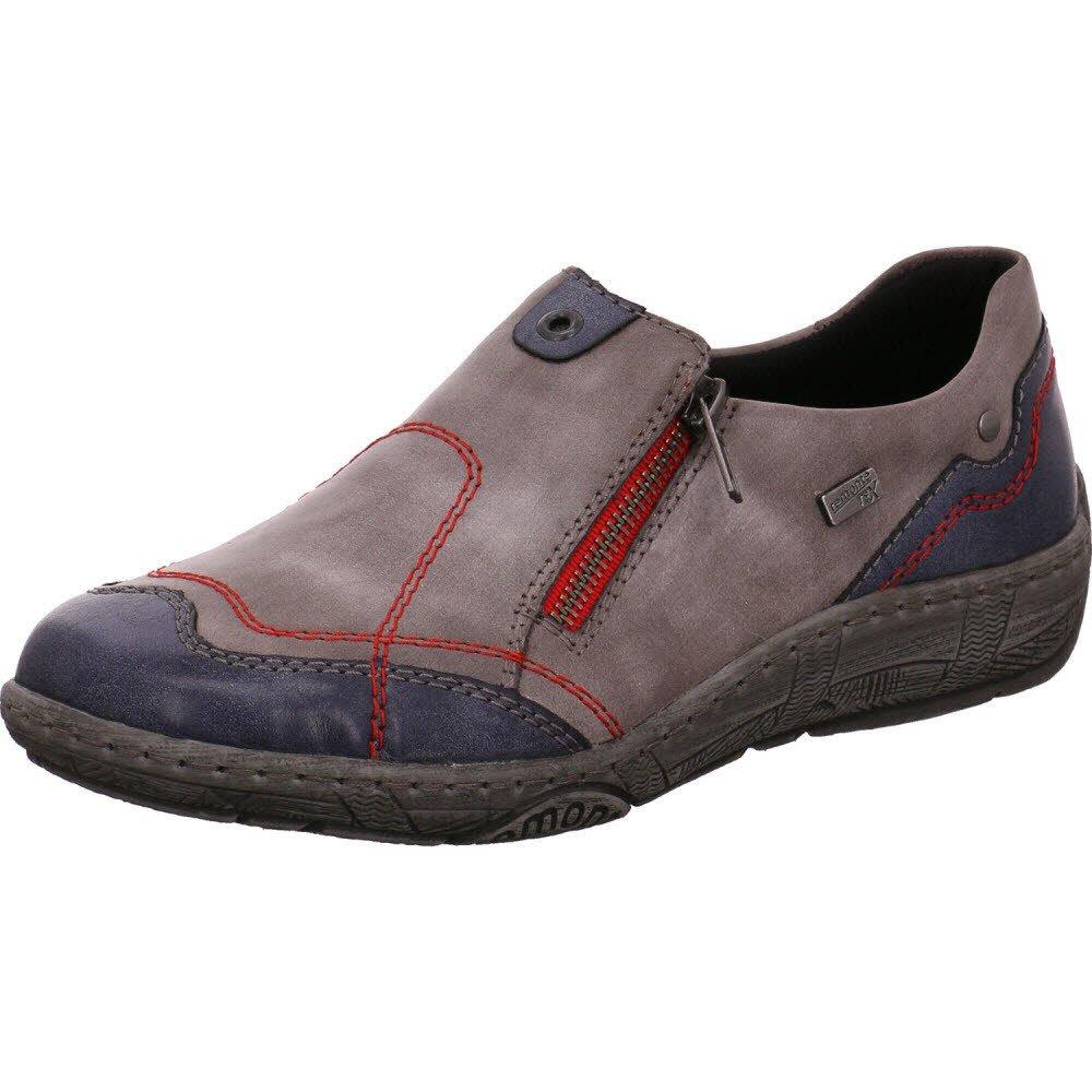 Remonte Damen R4701 R4701 R4701 Slipper, Jeans/Negr 4ca358