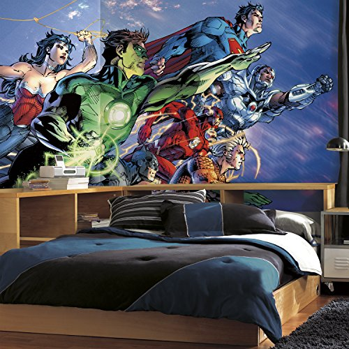 RoomMates JL1380M Justice League Prepasted