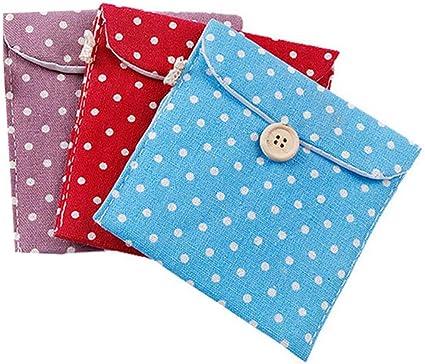 mi ji - Funda de algodón para compresas de Mujer, diseño de ...