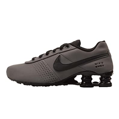 uk availability 1d479 14aae NIKE Kid s Shox Deliver PNT GS, Dark Grey Black, ...