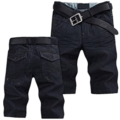 2018 New Fashion Summer Jeans Trousers Hot Sale Casual Men Denim Shorts Plus Size