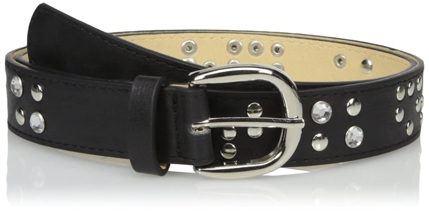 Madden Girl Women's Pant Belt with Studs and Stones