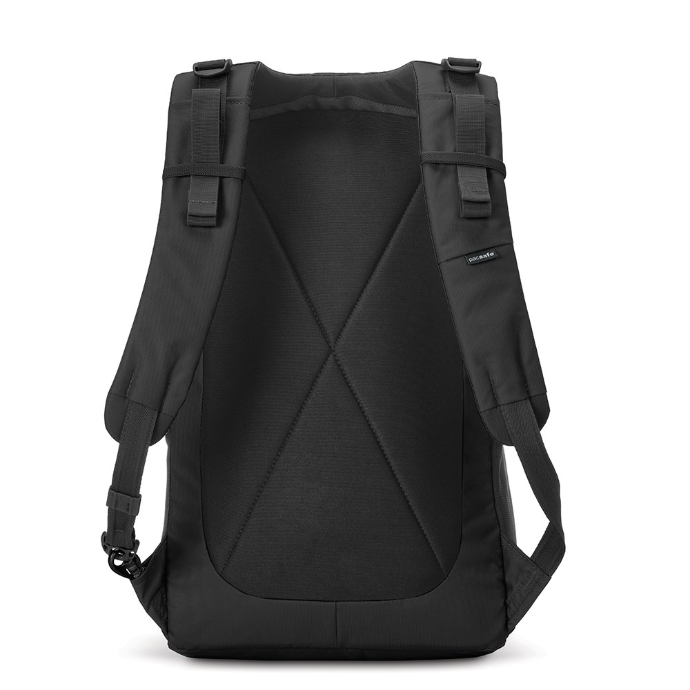 Pacsafe Metrosafe LS450 Anti-Theft 25L Backpack, Black by Pacsafe (Image #2)