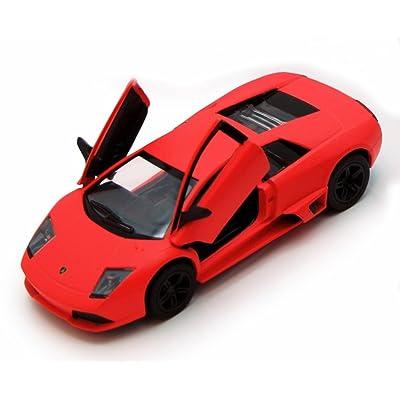 KiNSMART Lamborghini Murcielago LP640, Orange 5370D - 1/36 Scale Diecast Model Toy Car, but NO Box: Toys & Games