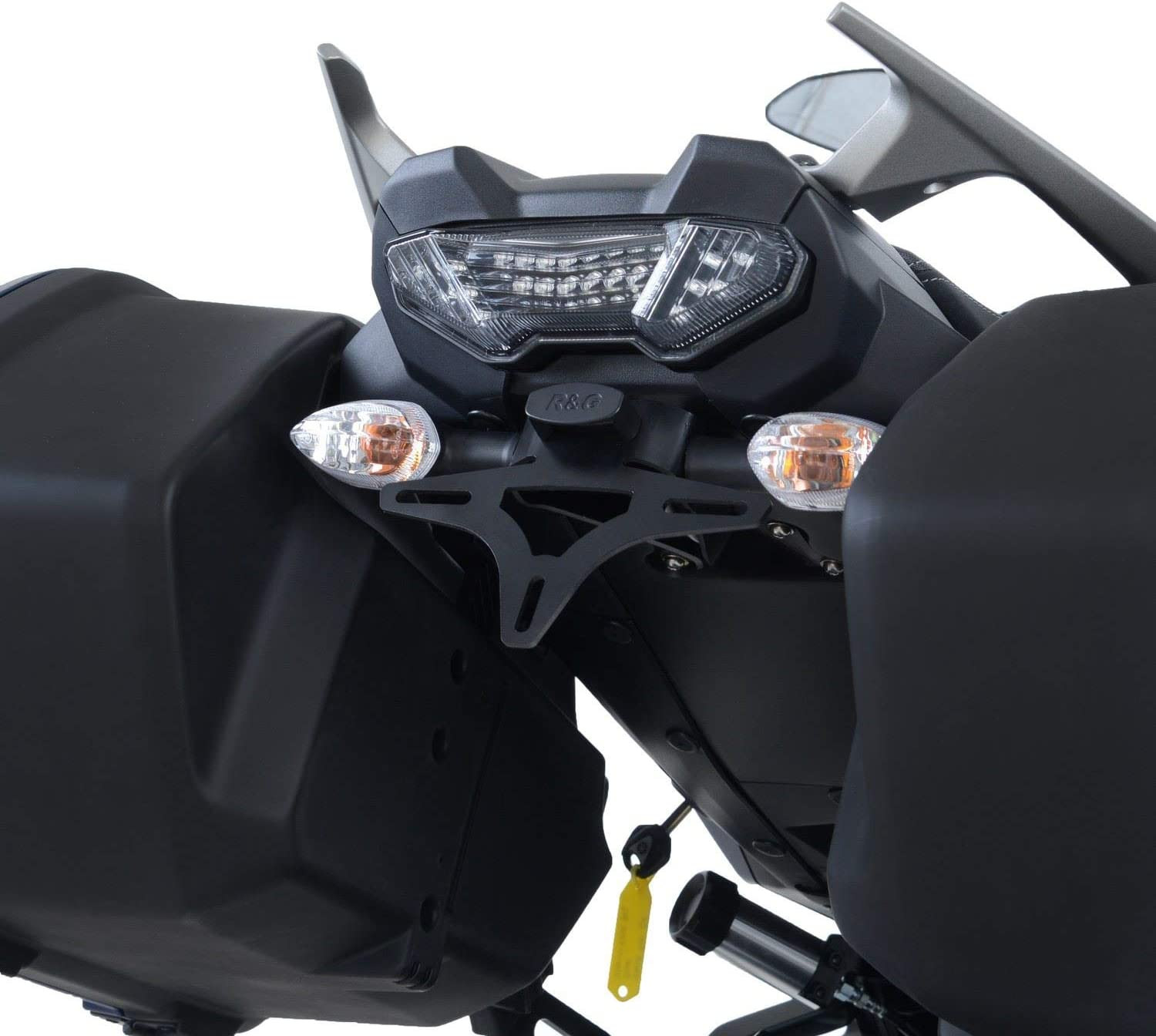 R G License Plate Bracket Tail Tidy Lp0257bk Yamaha Tracer 900 Gt Mt 09 Tracer 2018 Compatible With Original Bags Auto