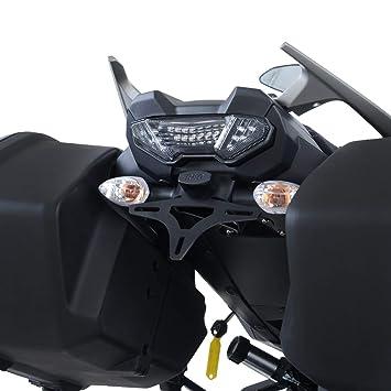 Support de plaque R/&G RACING noir Yamaha MT-09