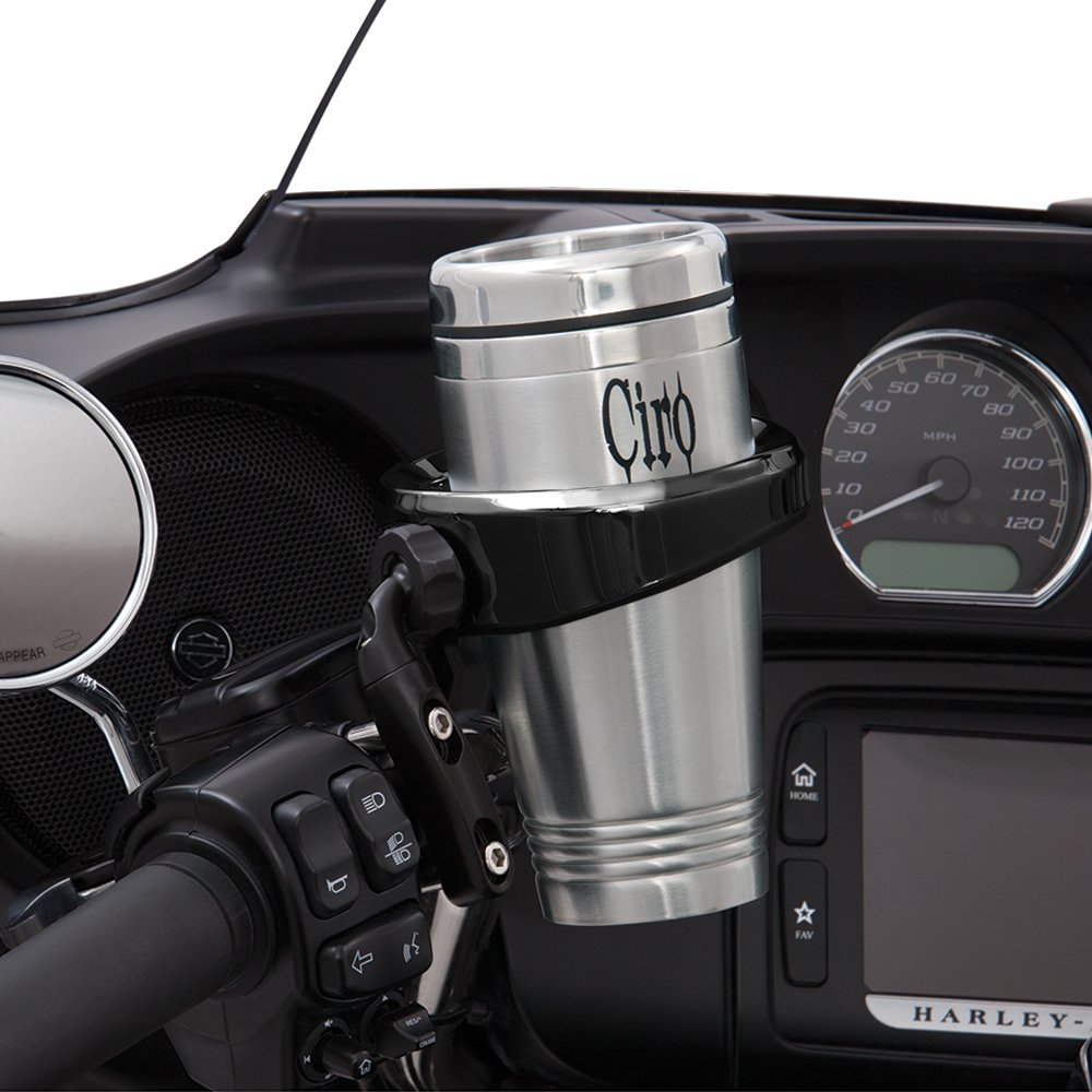 Cup Holder, Perch Mount All Black