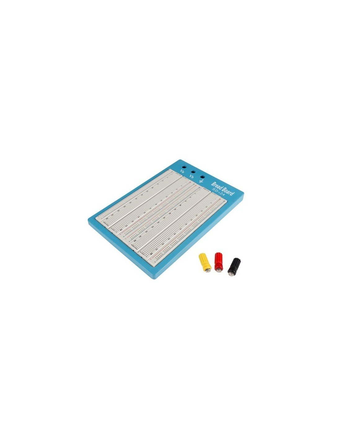 Velleman VTBB4 High-Quality 1680 Holes Breadboard, Multi-Colour