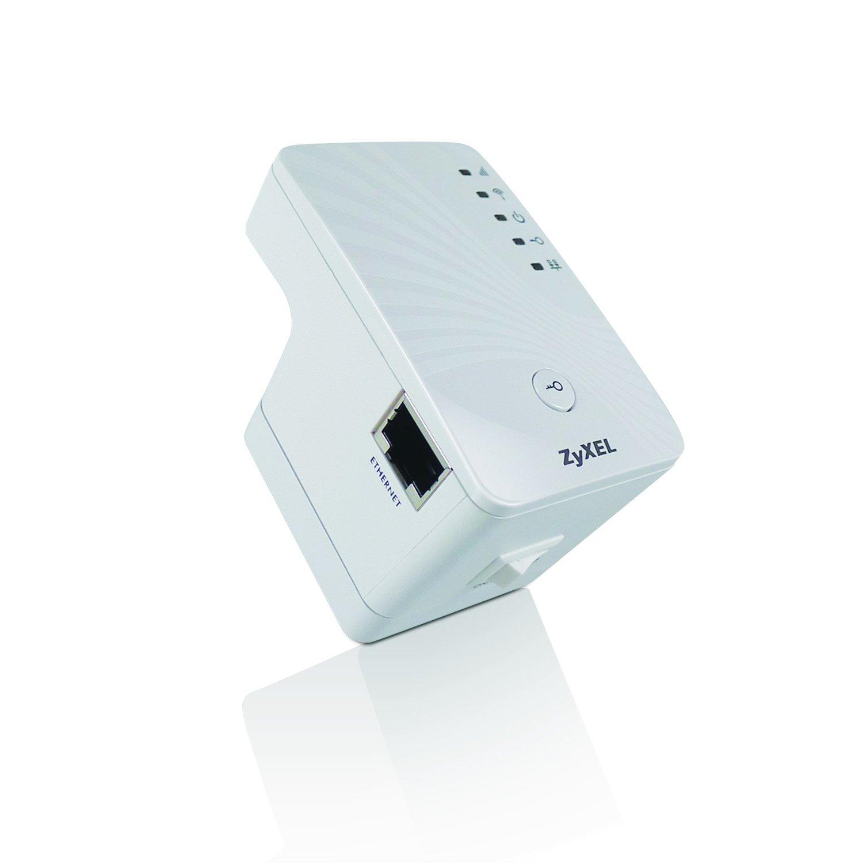 ZyXEL Wireless N Plug & Play 300Mbps Range Extender (WRE2205 Version 2)