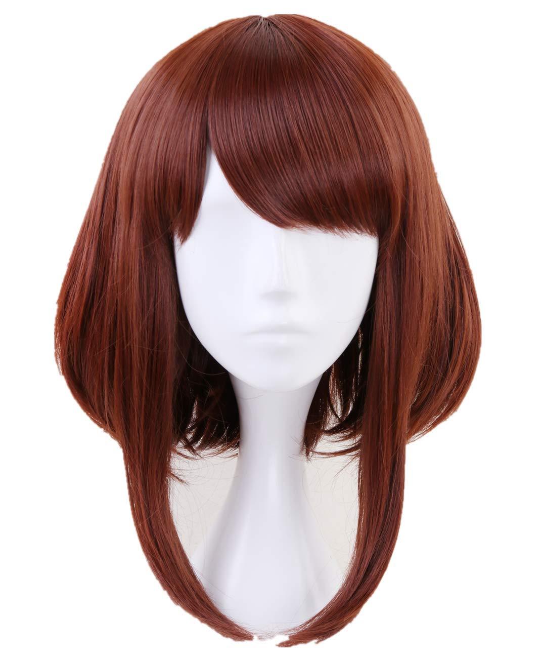 Asui Tsuyu cosplay anime Wig Black mix Green My Hero Academia