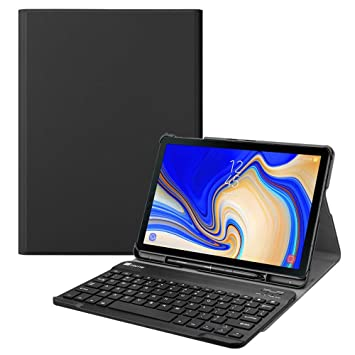 timeless design e70ad 202dd FINTIE Keyboard Case for Samsung Galaxy Tab S4 10.5 2018 Model  SM-T830/T835, Slim Lightweight Stand Cover with Magnetically Detachable  Wireless ...