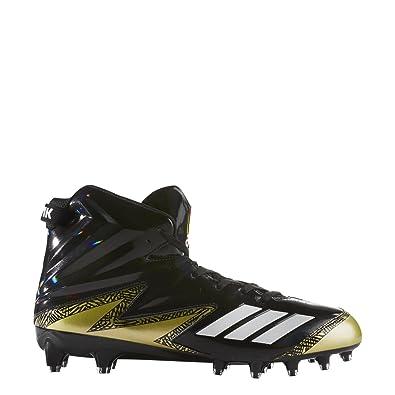 751f474617f adidas Freak X Carbon High Cleat Men s Football 8.5 Core Black-White-Gold  Metallic