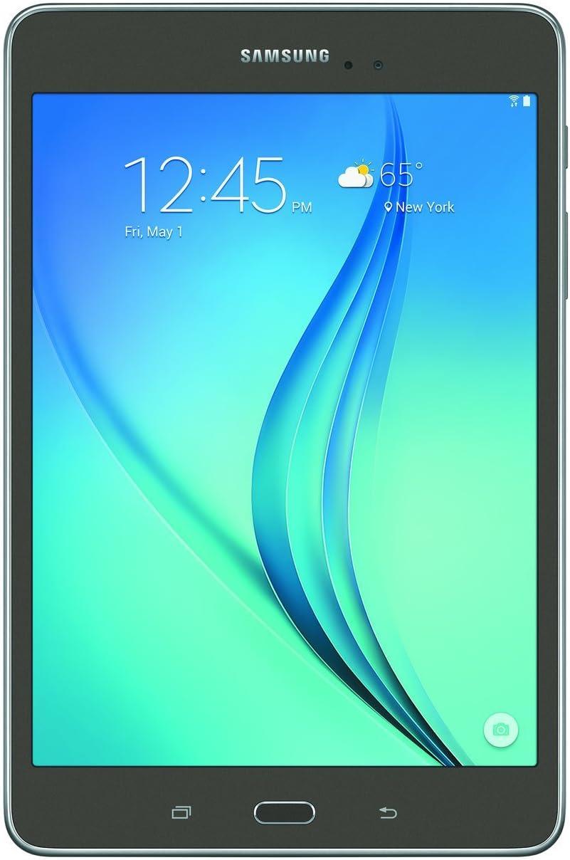 Samsung Galaxy Tab A SM-T350 8-Inch Tablet (16 GB, Titanium) W/ Pouch (Renewed)