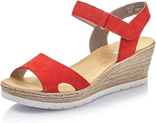 Details zu Rieker 619H3 33 Women Schuhe Damen Antistress