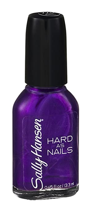 Amazon.com : Sally Hansen Hard as Nails Nail Polish, Rock Bottom ...