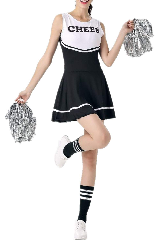 School Girl Halloween Costume College.Enjoysports Women Ladies Cheerleader Costume Outfit College Fancy