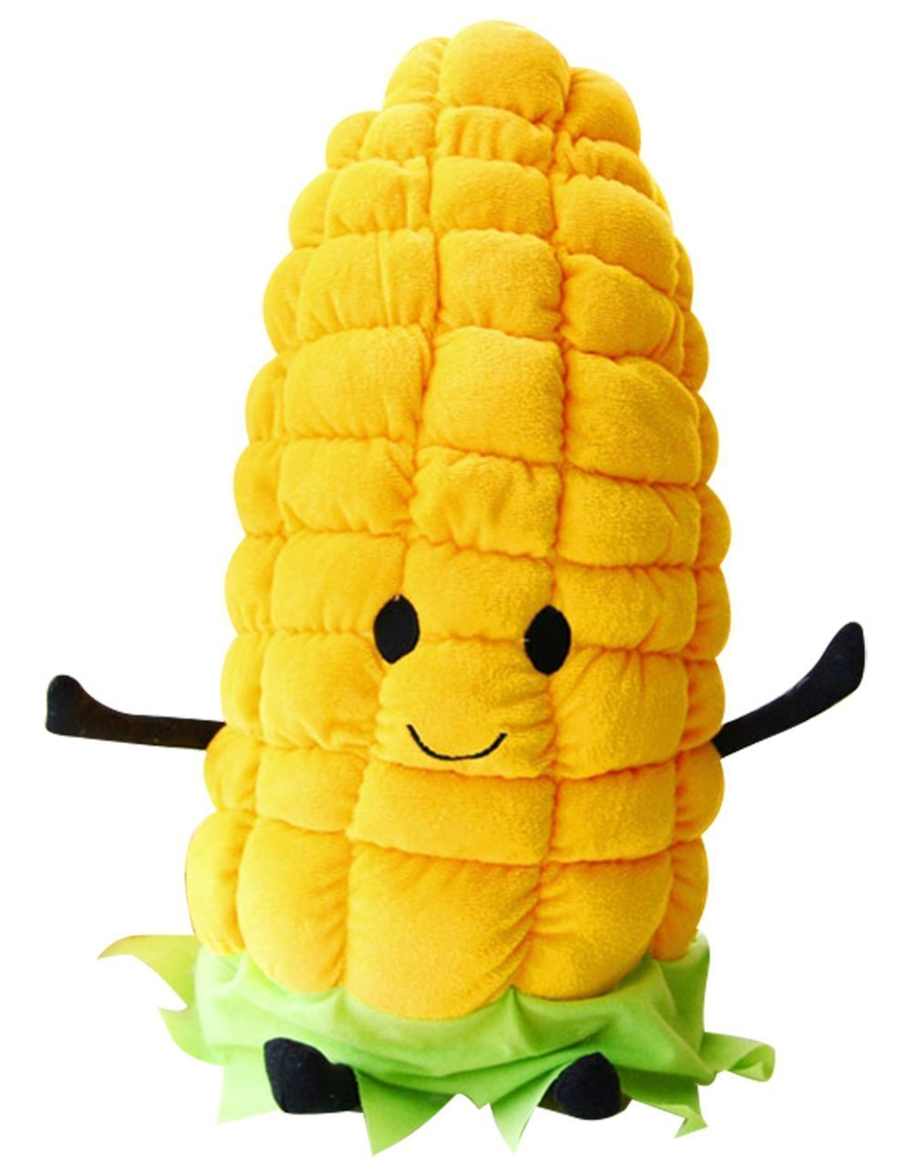 Corn Pillow Plush Toy Vegetable Shaped Doll for Girl and Children Thanksgiving Christmas Gift 23.5''