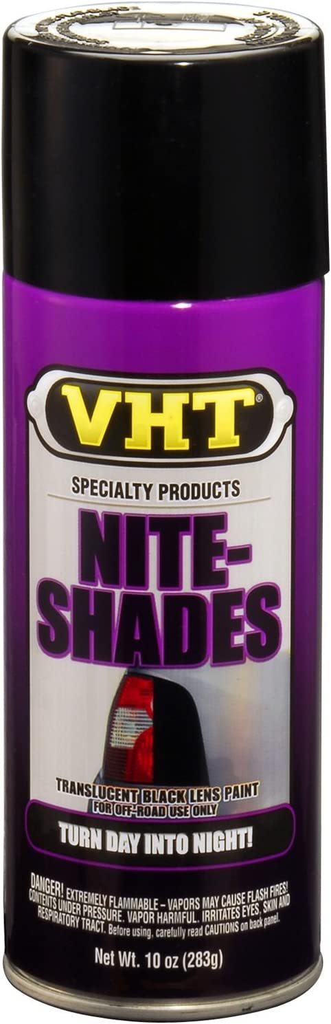 VHT SP999 Nite-Shades Lens Cover Tint (Black Paint Can)- 10 oz.
