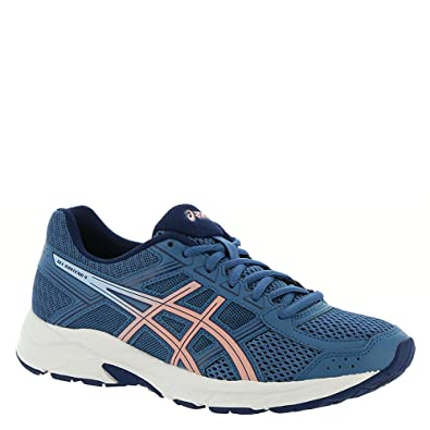 f3028392f4458 ASICS Gel-Contend 4 Women's Running Shoe, Azure/Frosted Rose, 11 M US