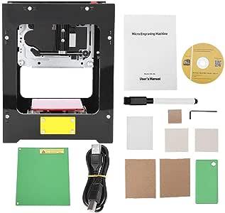 Grabado de imagen,Jadpes Plotter de corte, impresora de grabado Impresora ler Muina de impresi 550 * 550 peles de alta resoluci para PC Pad Phone: Amazon.es: Amazon.es
