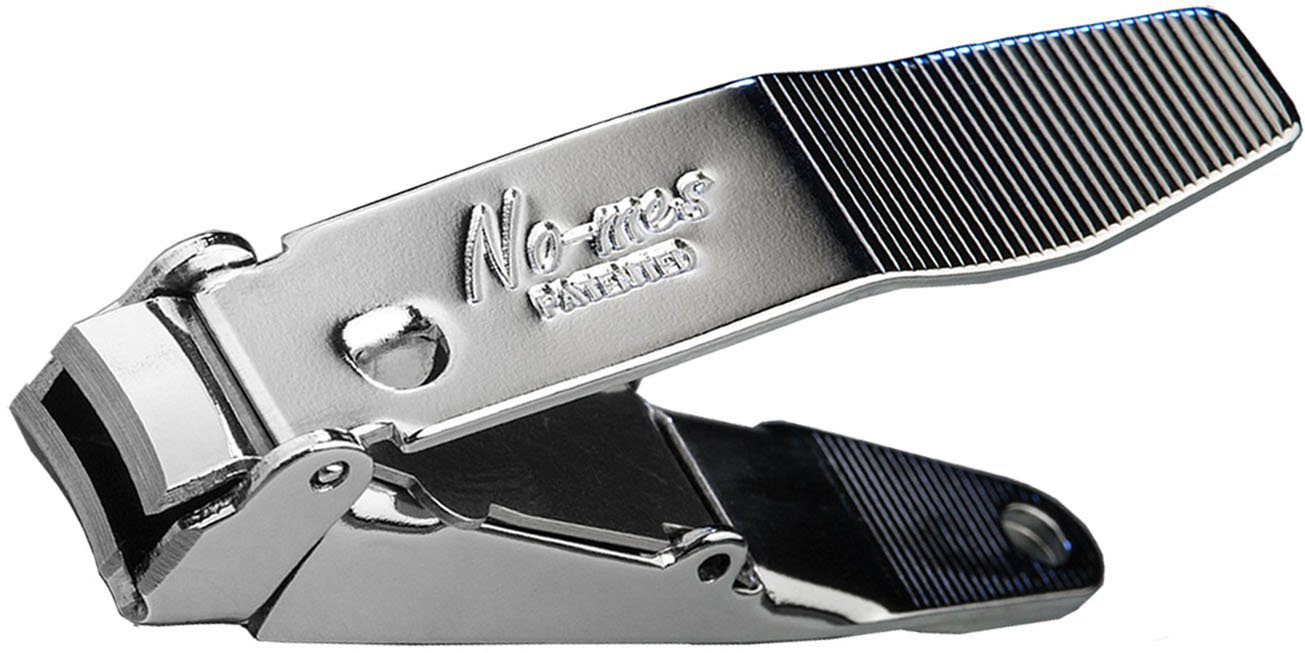 www.nomesnailclipper.com Genuine No-mes Nail Clipper with Catcher Catches Clippings Made in USA