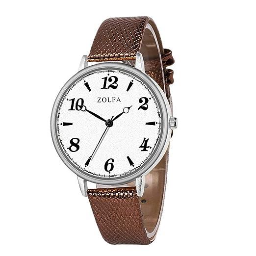 Househome - Reloj de Cuarzo extraplano de Zolfa Studente, para ...