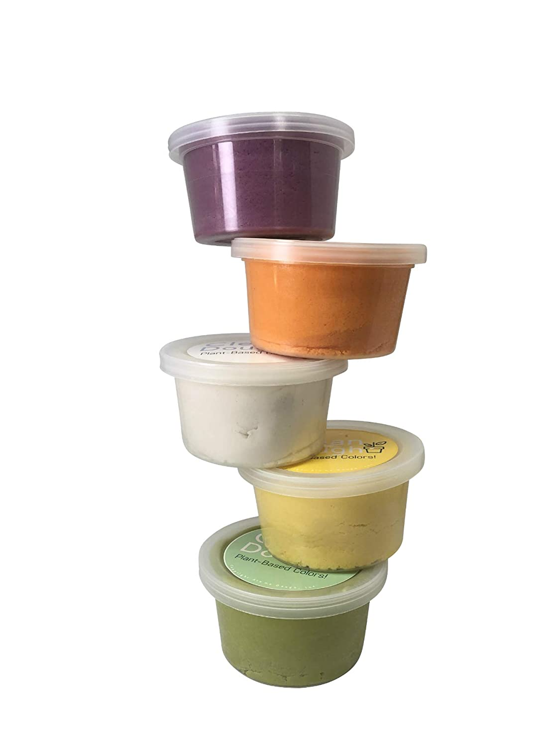 Hypoallergenic Soy-Free Aroma Dough Clean Dough- Gluten-Free Sensory Play Dough 5 Pack Back to School Supplies for Kids Fragrance Free /& Dye Free Play Dough Set