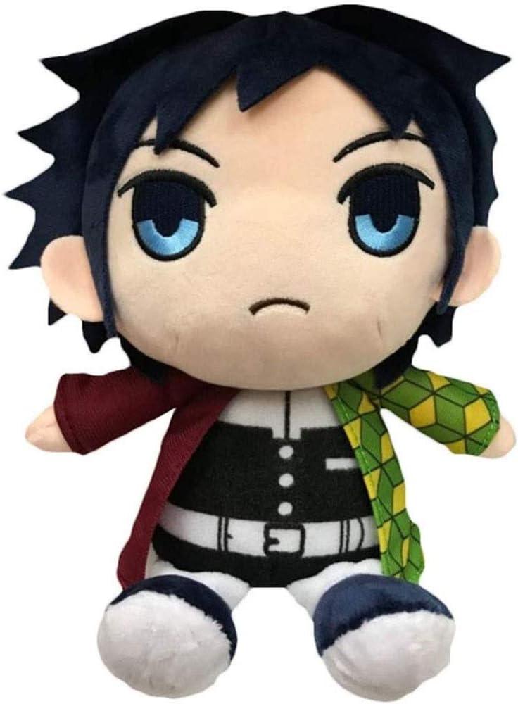 HHtoy 25cm Tomioka Giyuu muñeca de la Felpa del Demonio Asesino del Anime Figuras de Dibujos Animados de Marionetas de Peluche Suave Juguete Playmate de cumpleaños 3 niños