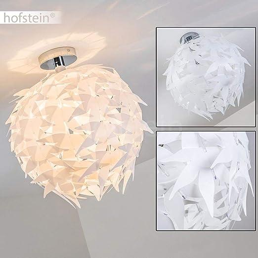 Dokkas Lámpara de techo en blanco - diseño - redondo ...