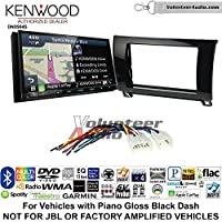 Volunteer Audio Kenwood Excelon DNX994S Double Din Radio Install Kit with GPS Navigation Apple CarPlay Android Auto Fits 2007-2013 Non Amplified Toyota Tundra, 2008-2013 Sequoia (Metallic Gray)