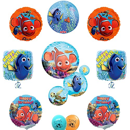 Finding Nemo Banner (Finding Nemo and Dory Party Supply Ultimate Balloon Decoration Set)