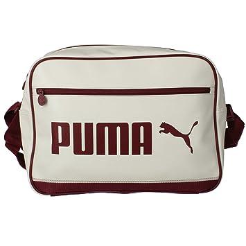 Puma Reporter X Bolsa Talla 40 Whisper Campus Blanco Whitecabernet ppEnrx8