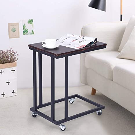 Cool Amazon Com Jhfuh Snack Side Table Mobile End Table For Uwap Interior Chair Design Uwaporg